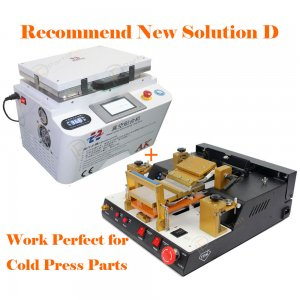 Recommend New Solution D for iPhone LCD Refurbish by Cold Press Materials