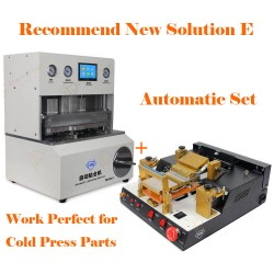 Recommend New Solution E for iPhone LCD Refurbish by Cold Press Materials