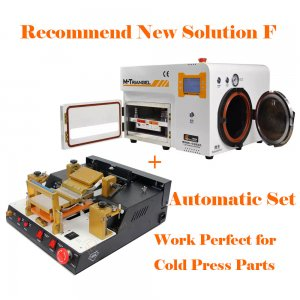 Recommend New Solution F for iPhone LCD Refurbish by Cold Press Materials