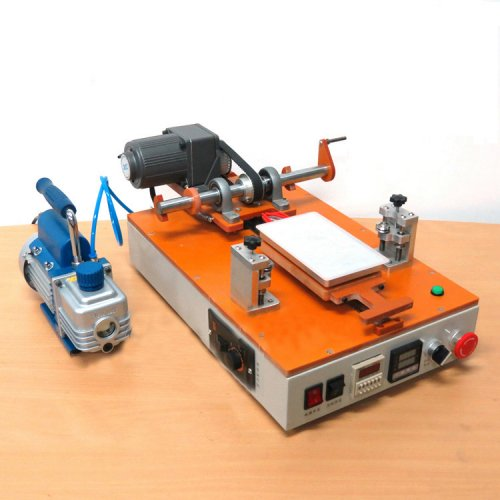 Wooden lcd automatic separator with vacuum pump