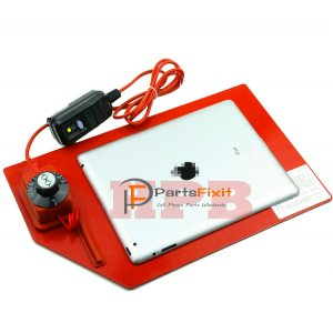 Heating Station for Tablet and phone Screen Opening