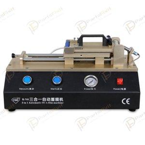 3 in 1 Automatic OCA Film Laminating Machine Built-in Vacuum Pump Air Compressor For Cell Phone LCD Refurbishment TBK-765