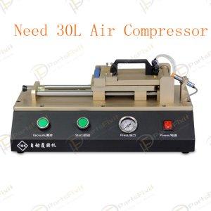 Automatic OCA Film Machine Built-in vacuum Pump Need 30L Air Compressor for OCA Repairs TBK-762