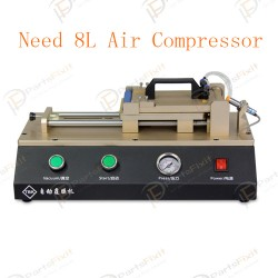 Automatic OCA Film Machine Built-in vacuum Pump Need 8L Air Compressor for OCA Repairs TBK-763