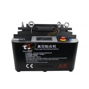 AK 2 in 1 Vacuum Laminator and Bubble remover Machine Black Color for lcd Refurbishment