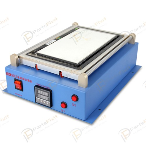 """Support 12"""" Built-in Vacuum Pump LCD Separator Machine for Tablet and Mobile LCD Refurbish TBK-968"""