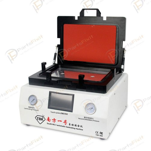 New Version Automatic Vacuum Laminating Machine and Bubble Remover with Automatic Lock Gas #TBK-808