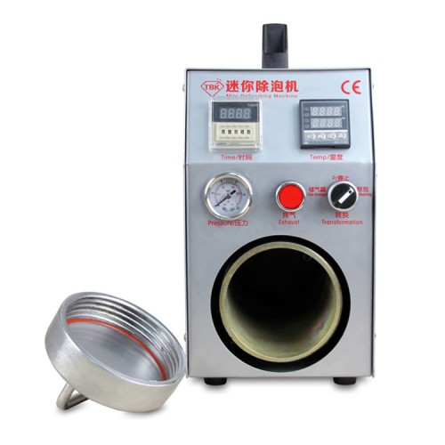 Built-in Vacuum Pump and  Air Compressor Mini Autoclave LCD Bubble Remover for Cell Phone LCD Refurbishment