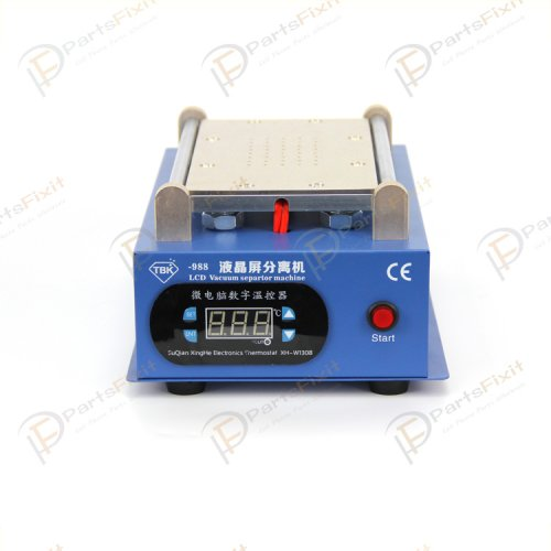 New Version Built-in Silent Vacuum Pump LCD Separator Machine for iPhone Samsung LCD Refurbish TBK-988