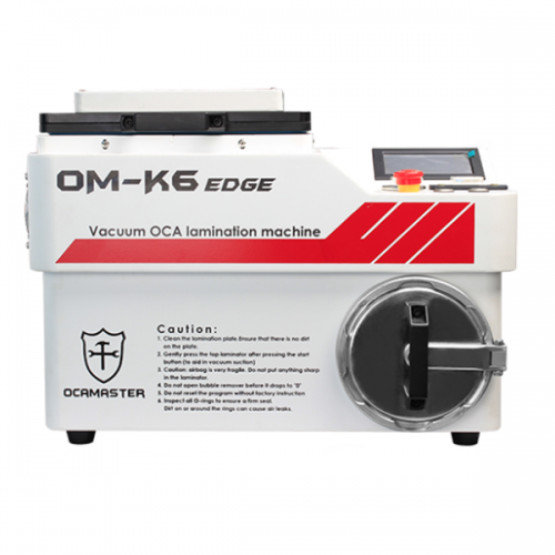 For Curved Screens LCD Refurbish Vacuum OCA Lamination Machine #OM-K6 Edge