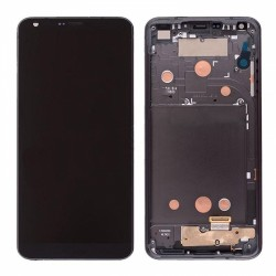 LCD Screen with Frame for LG G6 Black Original