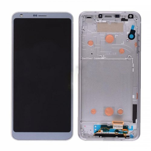 LCD Screen with Frame for LG G6 Blue  Original