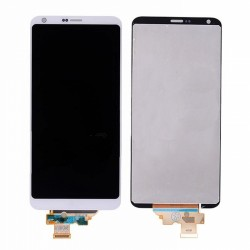 LCD with Digitizer Assembly  for LG G6 White Original