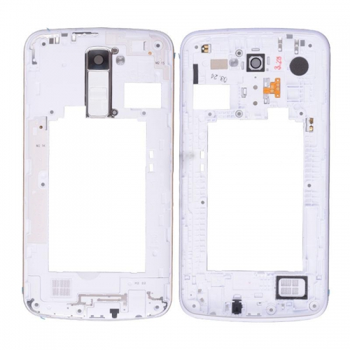 Middle Frame for LG K10 White Single Card Version