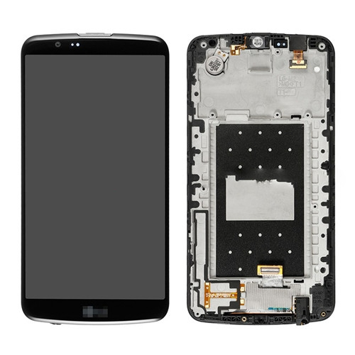 LCD Screen with Frame for LG K10 Black Original
