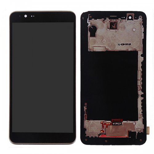 Screen Replacement With Frame for LG G Stylo 2 Bla...