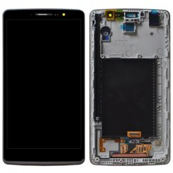 Screen Replacement With Frame for LG G Stylo LS770 Black Ori (With Small IC)
