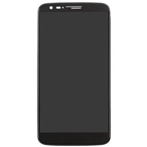 For LG G2 VS980 LCD with Frame and Verizon Black Copy Glass
