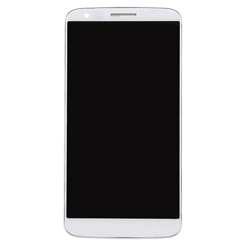 For LG G2 VS980 LCD with Frame and Verizon White C...