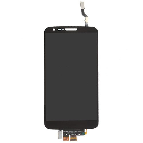 LCD with Digitizer and Verizon for LG G2 VS980 Black Copy Glass