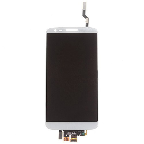 LCD with Digitizer and Verizon for LG G2 VS980 White Copy Glass