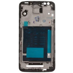 Front Frame for LG G2 D802 Black Original