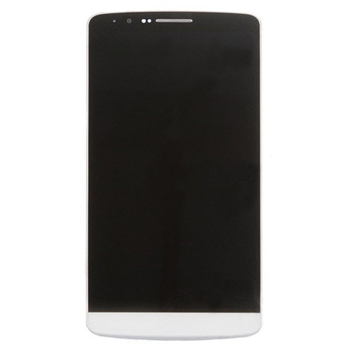 LCD with Frame for LG G3/D855 White High Copy