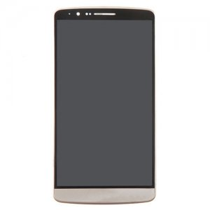 LCD with Frame for LG G3/D855 Gold High Copy