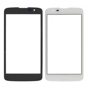For LG K8 Front Glass Lens White