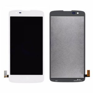 For LG K8 K350N LCD with Digitizer Assembly White