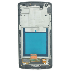 LCD with Frame for LG Nexus 5 D820 Black Copy Glass