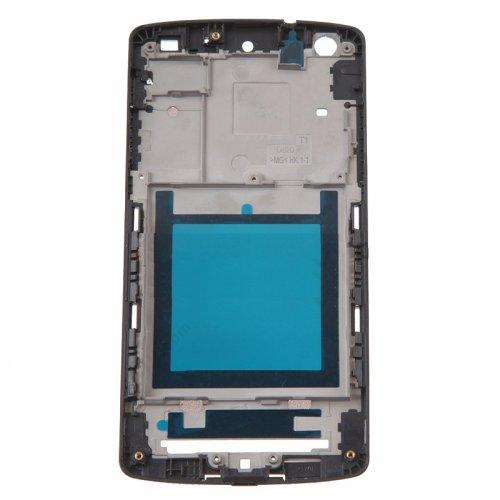 Front Frame for LG Nexus 5 D820 Black Original