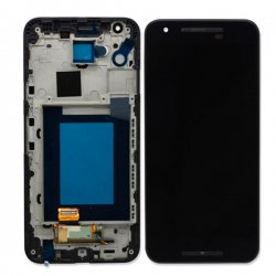 Screen Replacement With Frame for LG Nexus 5X Black OEM
