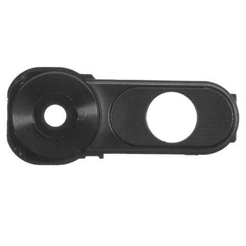 Camera Lens with Frame Bezel for LG V10 Black