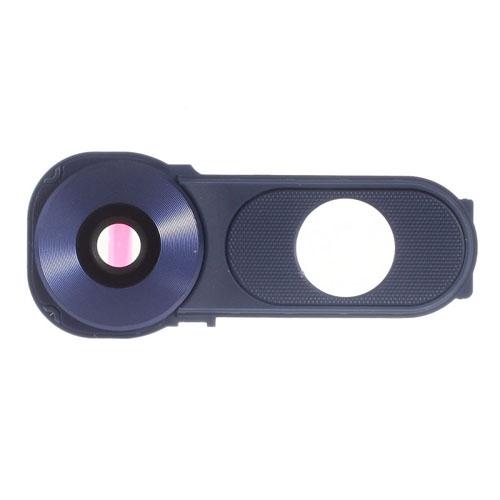 Camera Lens with Frame Bezel for LG V10 Blue