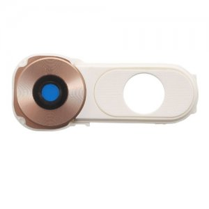 Camera Lens with Frame Bezel for LG V10 Gold