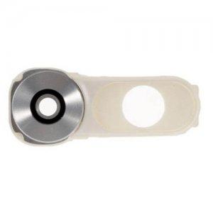 Camera Lens with Frame Bezel for LG V10 Silver