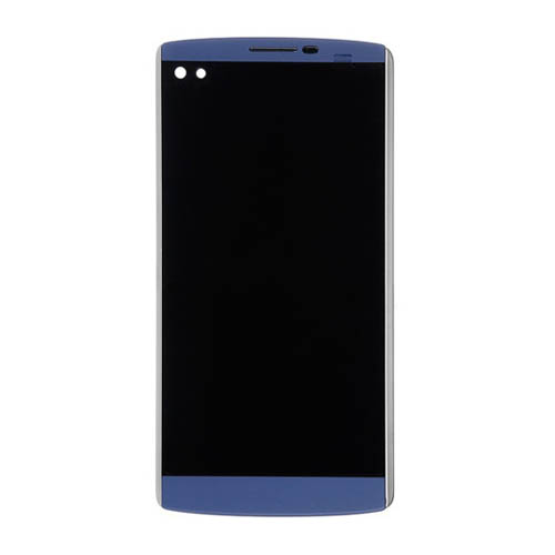 LCD Screen with Frame for LG V10 Blue