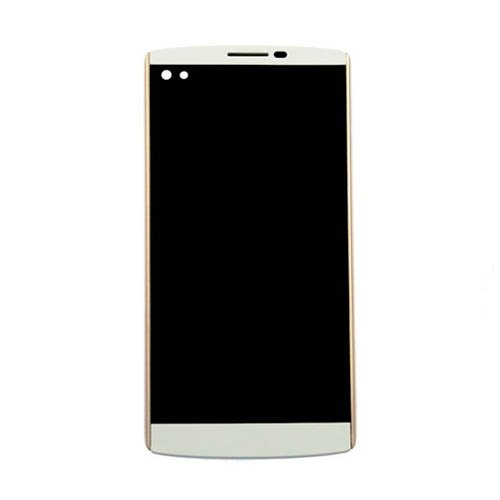 LCD Screen with Frame for LG V10 White