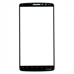 For LG G3 Front Glass Lens Black