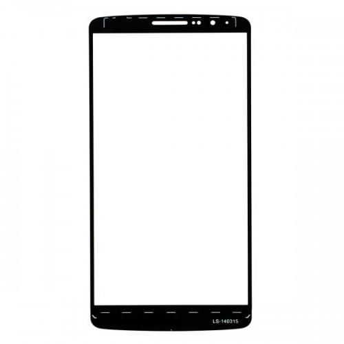 For LG G3 Front Glass Lens White