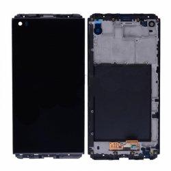 LCD Screen with Frame for LG V20 Black Original