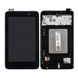 LCD with Digitizer Assembly for With Frame for Lenovo A7-50 A3500 Black