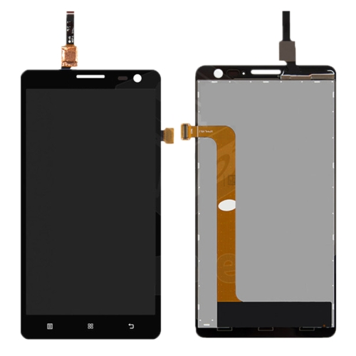 LCD with Digitizer Assembly for Lenovo S856 Black