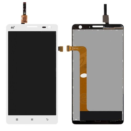 LCD with Digitizer Assembly for Lenovo S856 White
