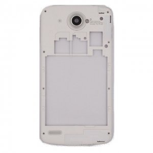 Middle Frame With Antenna+Camera Lens for Lenovo S920  White