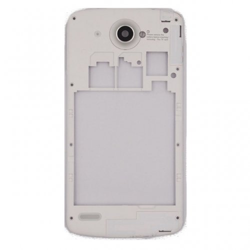 Middle Frame With Antenna+Camera Lens for Lenovo S920  White