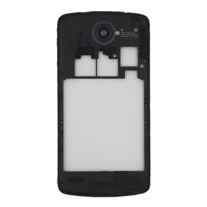 Middle Frame With Antenna+Camera Lens for Lenovo S920 Black