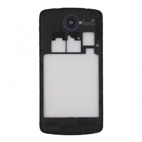 Middle Frame With Antenna+Camera Lens for Lenovo S920 Black