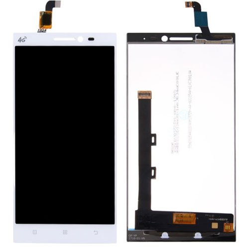 LCD with Digitizer Assembly for Lenovo Vibe Z2 White